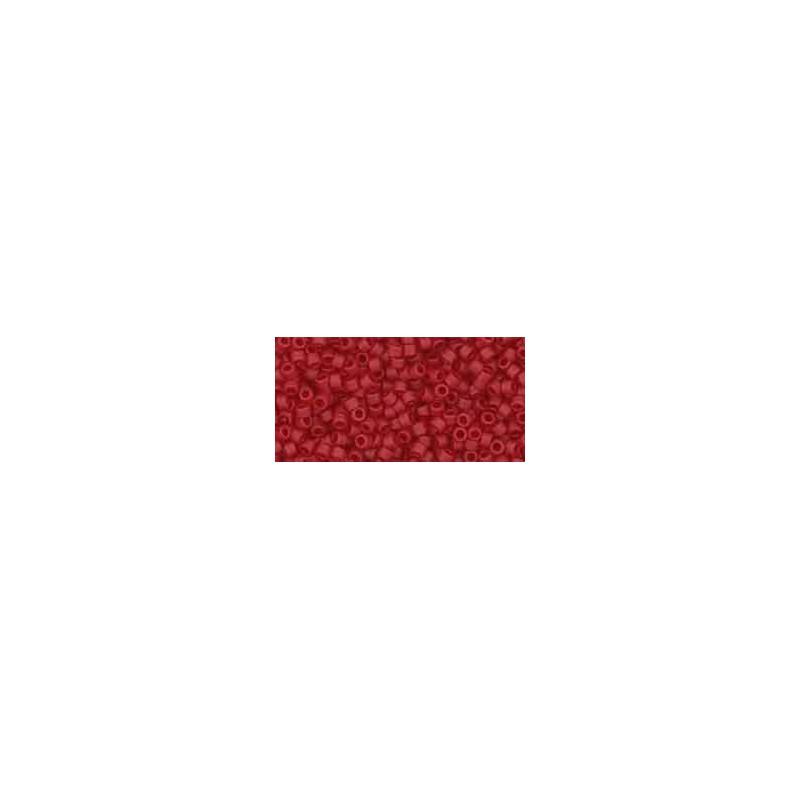 TT-01-5CF Transparent-Frosted Ruby TOHO Treasures Seemnehelmed