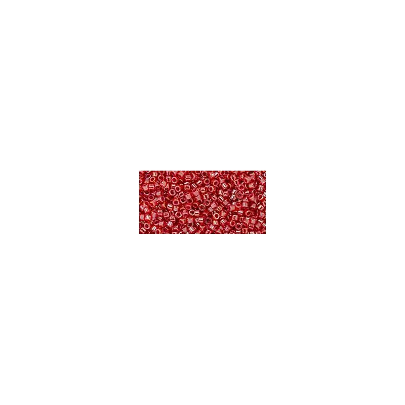 TT-01-1038 Red-Lined Luster Hyacinth TOHO Treasures Seed Beads