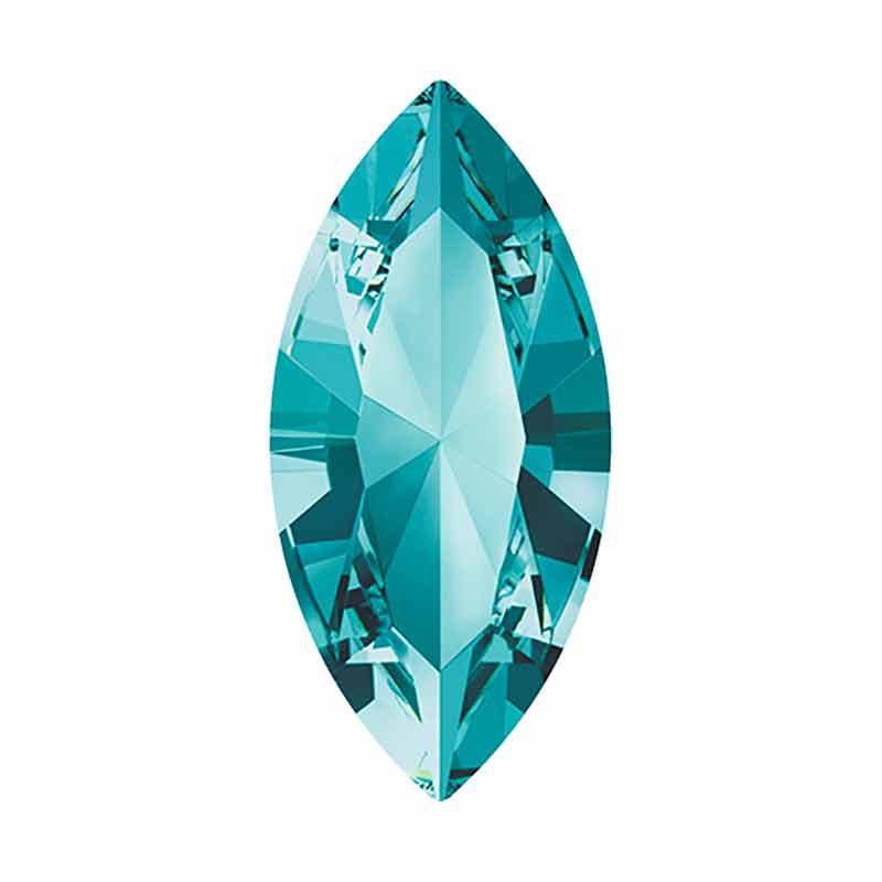 15x7mm Light Turquoise F Navette Fancy Stone 4228 Swarovski
