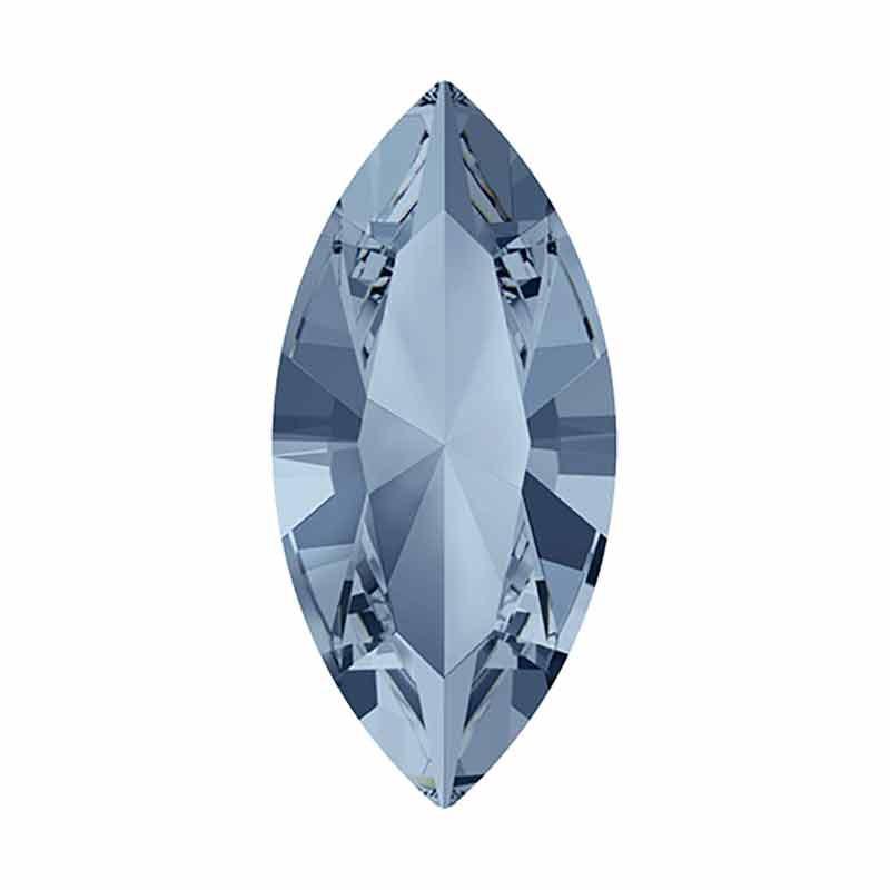 15x7mm Blue Shade F Navette Fancy Stone 4228 Swarovski