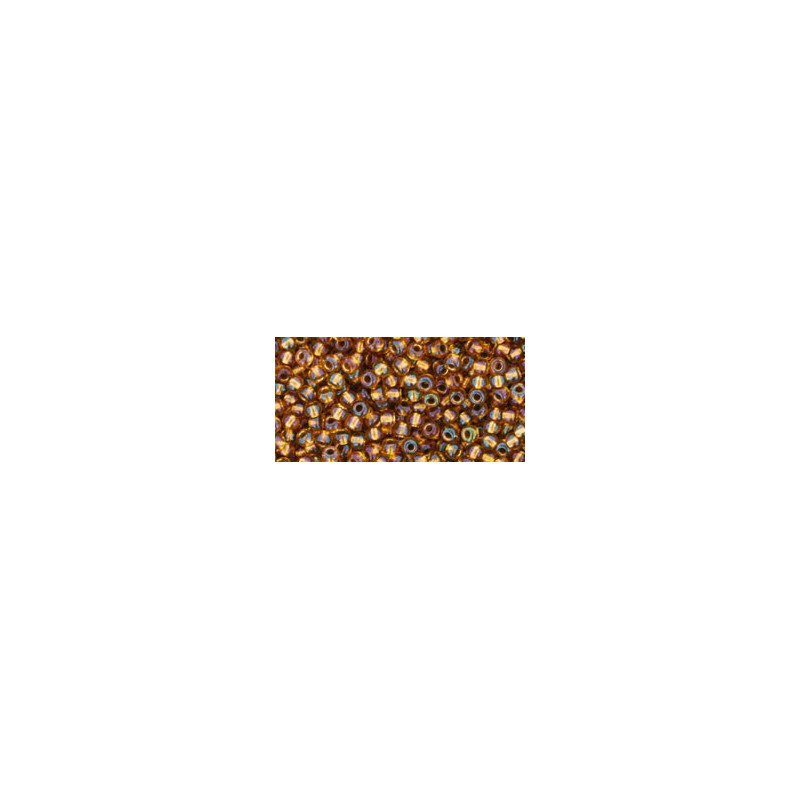 TR-11-1853 TRANSPARENT RAINBOW HONEY TOHO SEED BEADS