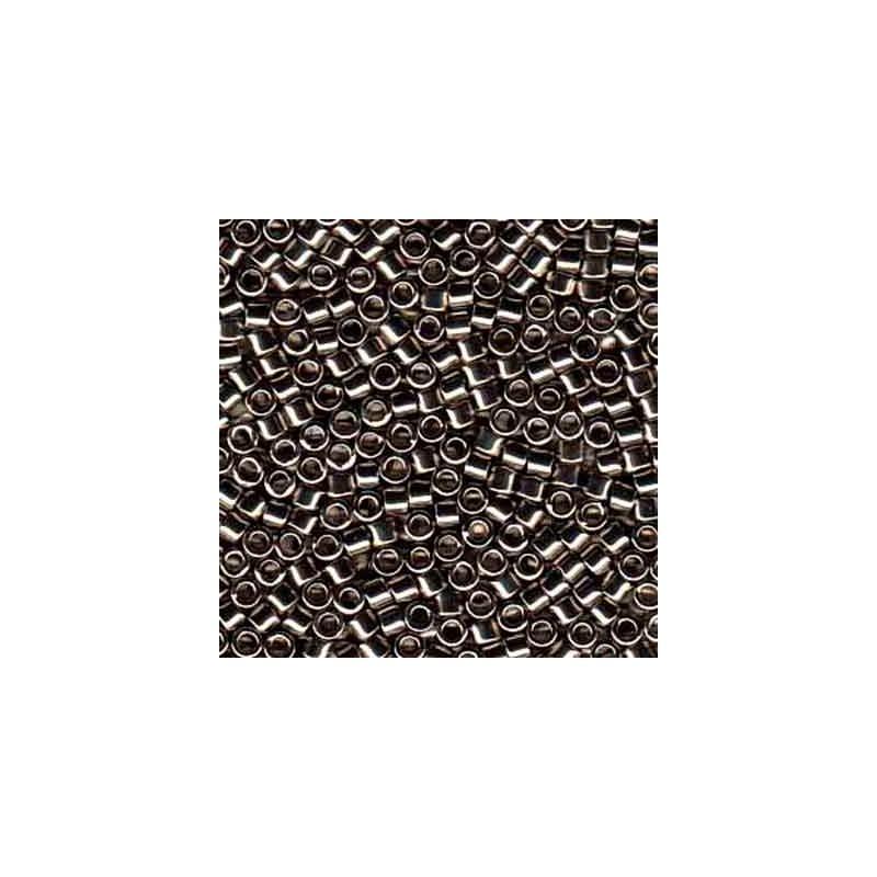 DB-21 Metallic Nickel Plated MIYUKI DELICA 11/0 seed beads