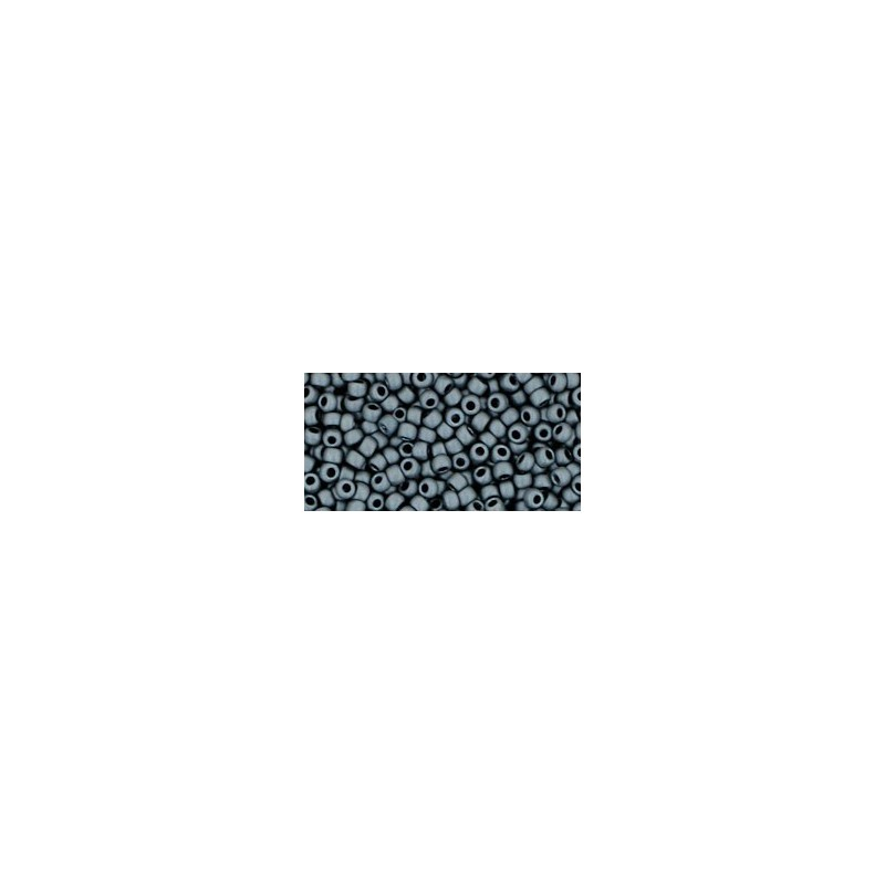 TR-11-611 MATTE-COLOR-OPAQUE GRAY TOHO SEED BEADS