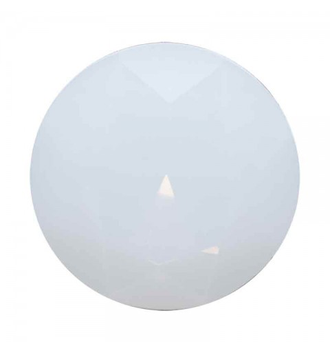 27MM White Opal F A1201 Fancy Chaton Aurora