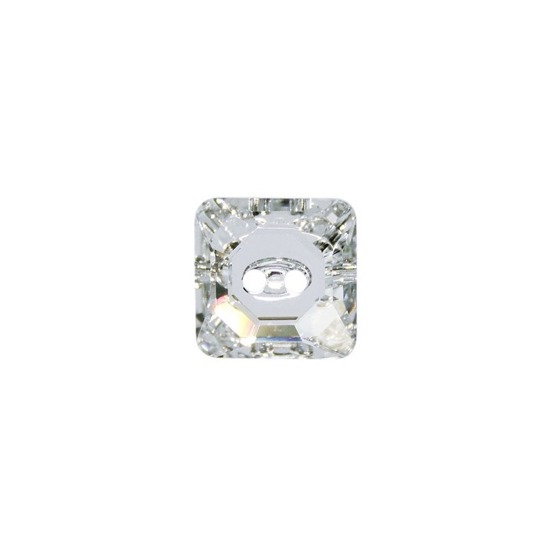 14MM Crystal M (001) Square 3017 Button SWAROVSKI ELEMENTS