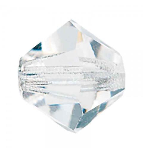 3MM Crystal Bi-Cone Rondell Preciosa Beads