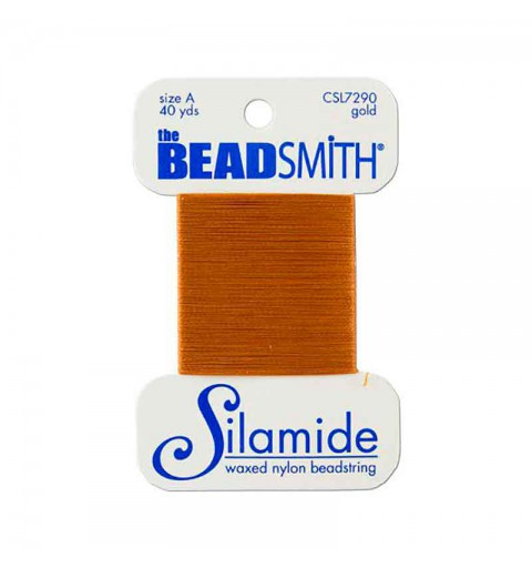 Silamide Gold thread A 0,20mm 36,5m