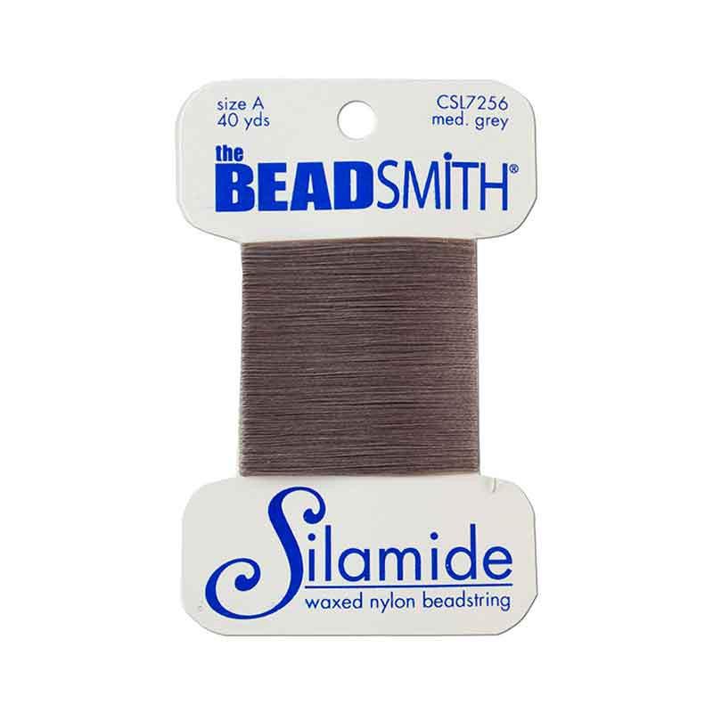 Silamide Medium Grey thread A 0,20mm 36,5m