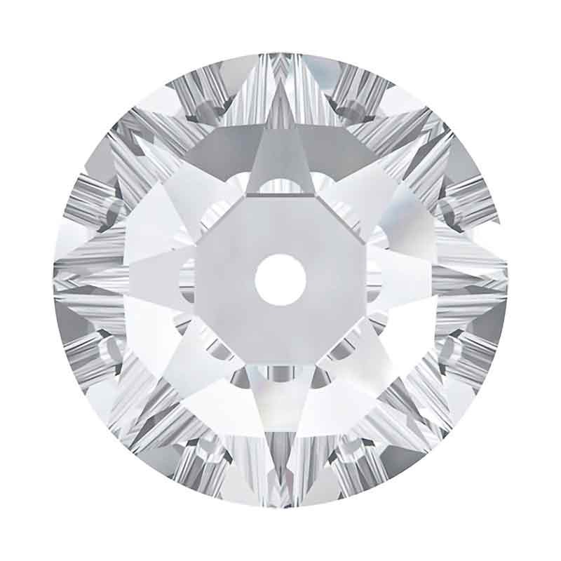 5MM Crystal F 3188 XIRIUS Lochrose SWAROVSKI Sew-on Stone