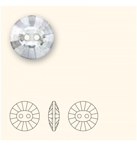 12MM Кристалл (001) Квадратная 3019 пуговица SWAROVSKI ELEMENTS