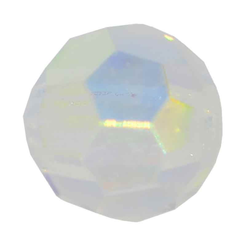 3MM Crystal AB Ümmargused Preciosa helmed