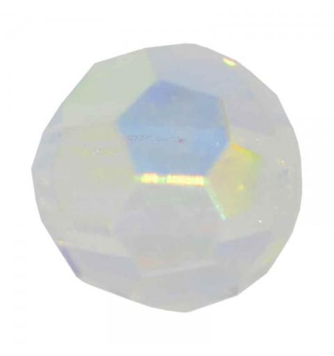 3MM Crystal AB Round Preciosa Beads