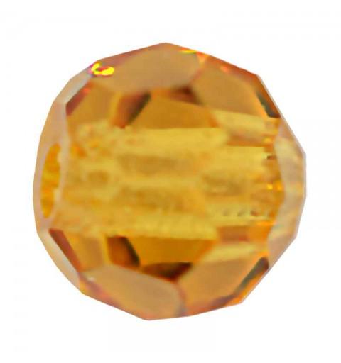 3MM Topaz Round Preciosa Beads