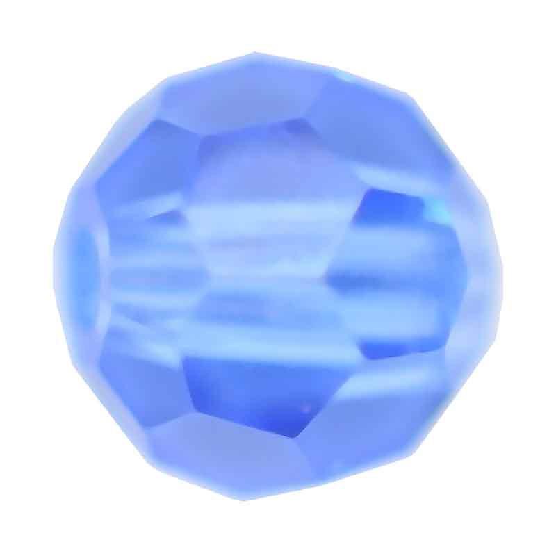 3MM Sapphire Ümmargused Preciosa helmed