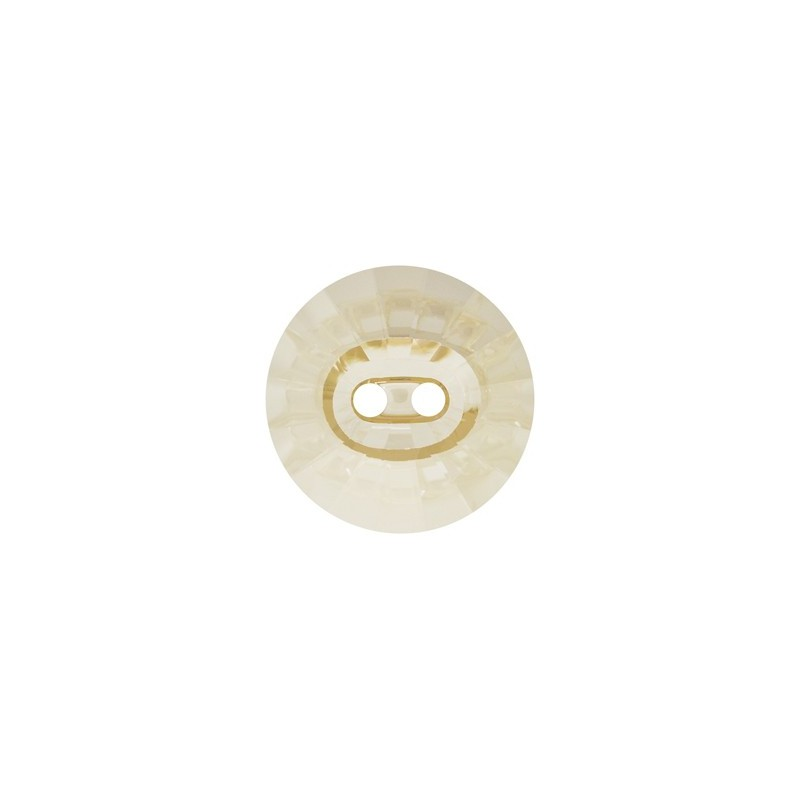 14MM Crystal Golden Shadow (001 GSHA) Rivoli 3019 Button SWAROVSKI ELEMENTS