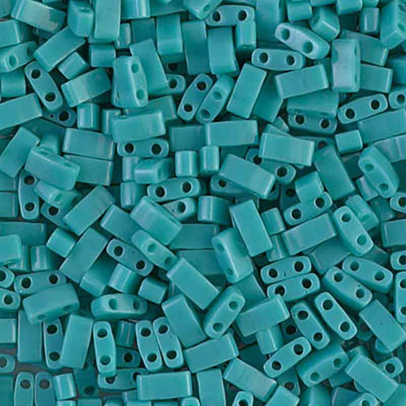 HTL-412 Opaque Turquoise Green Miyuki Pool Tila HELMED