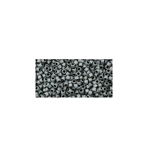 TT-01-611 MATTE-COLOR OPAQUE GRAY TOHO Treasures 12/0