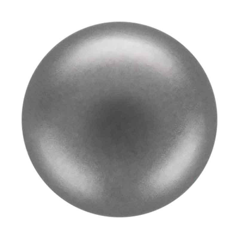 12MM Dark Grey (74500) Nacre Pearl round Preciosa
