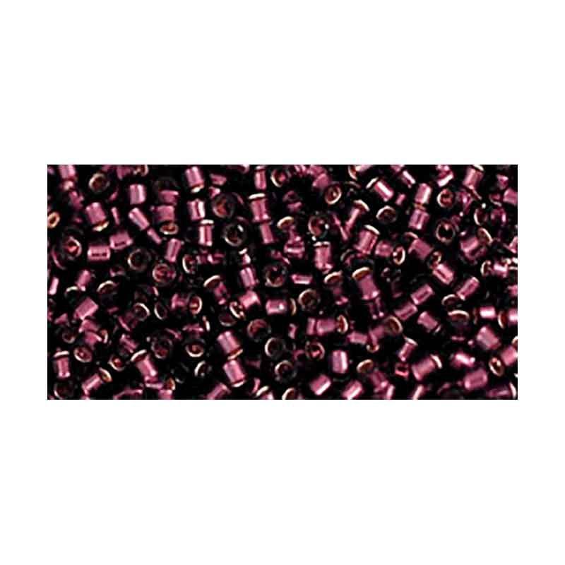 TT-01-26C Amethyst Silver-Lined TOHO Treasures Seed Beads