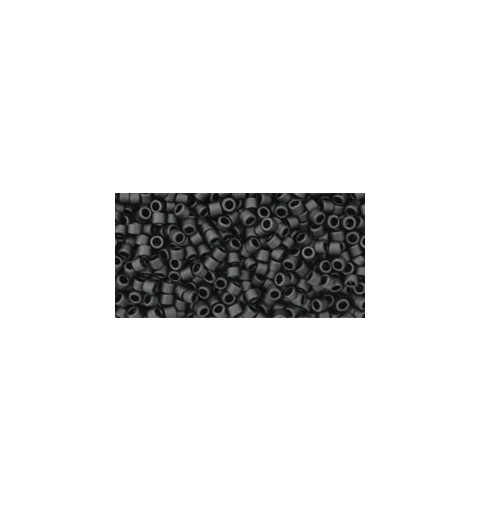 TT-11-610 OPAQUE-FROSTED JET ТОХО Трэжерс 12/0
