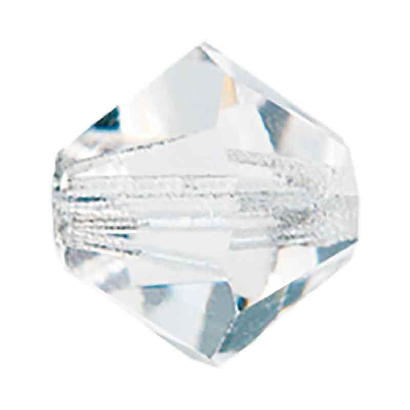 6MM Crystal Bi-Cone Rondell Preciosa helmes