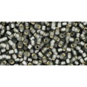 TR-11-29BF SILVER-LINED FROSTED GRAY TOHO SEED BEADS