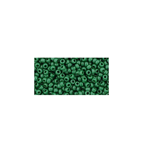 TR-11-47H OPAQUE PINE GREEN TOHO SEED BEADS