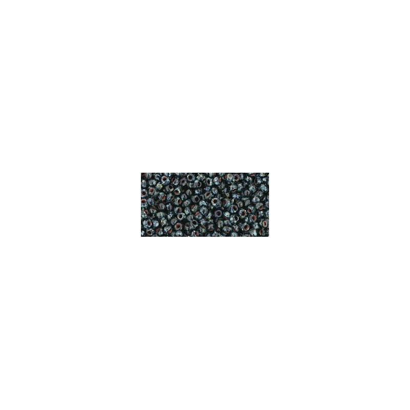 TR-11-Y302 HYBRID JET PICASSO TOHO SEED BEADS