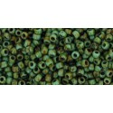 TR-11-Y307 HYBRID TURQUOISE PICASSO TOHO SEED BEADS