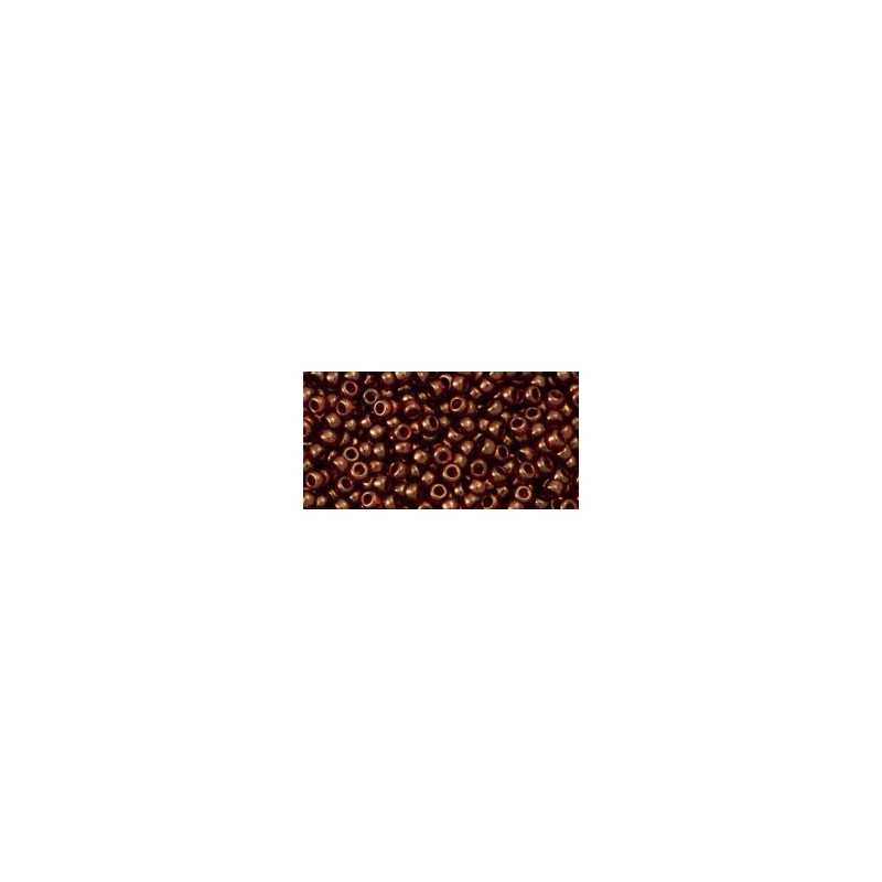 TR-11-329 GOLD-LUSTERED AFRICAN SUNSET TOHO SEED BEADS