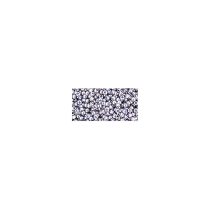 TR-11-455 GOLD-LUSTERED PALE WISTERIA TOHO SEED BEADS