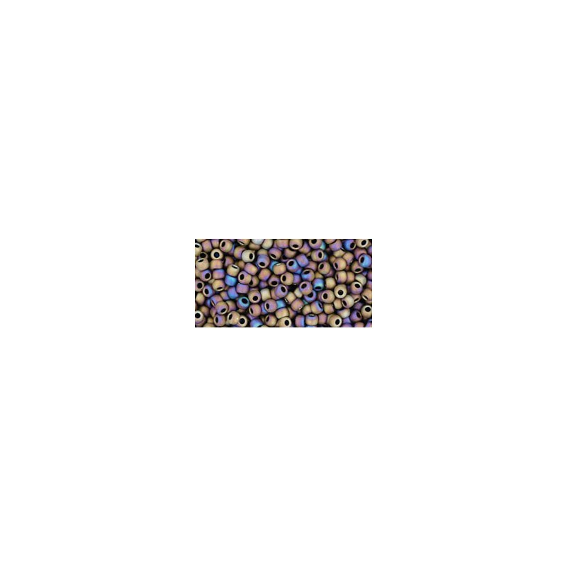 TR-11-615 MATTE-COLOR IRIS PURPLE TOHO SEED BEADS