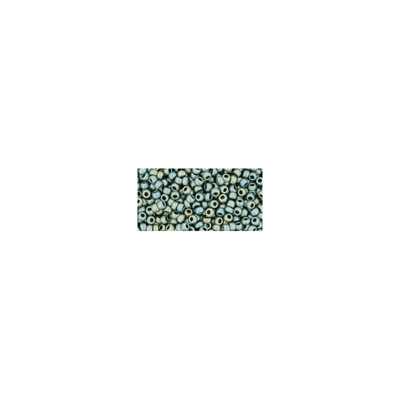 TR-11-512F HIGHER-METALLIC-FROSTED* BLUE HAZE TOHO SEED BEADS