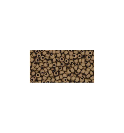 TR-11-702 MATTE-COLOR DARK COPPER TOHO SEED BEADS