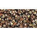TR-11-Y304 HYBRID PEPPER RED PICASSO TOHO SEED BEADS