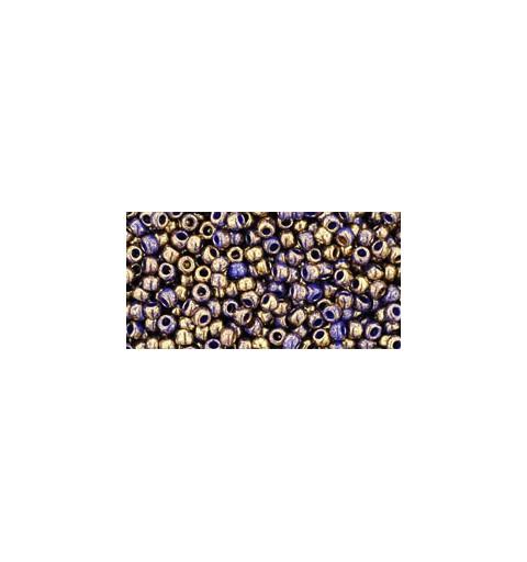 TR-11-1701 GILDED MARBLE BLUE TOHO SEEMNEHELMEID