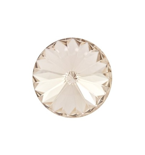 14MM Light Silk F (261) 1122 Rivoli Chaton SWAROVSKI