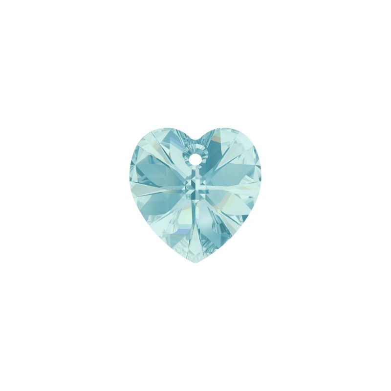 18x17.5MM Light Turquoise (263) XILION Heart Pendants 6228 SWAROVSKI ELEMENTS