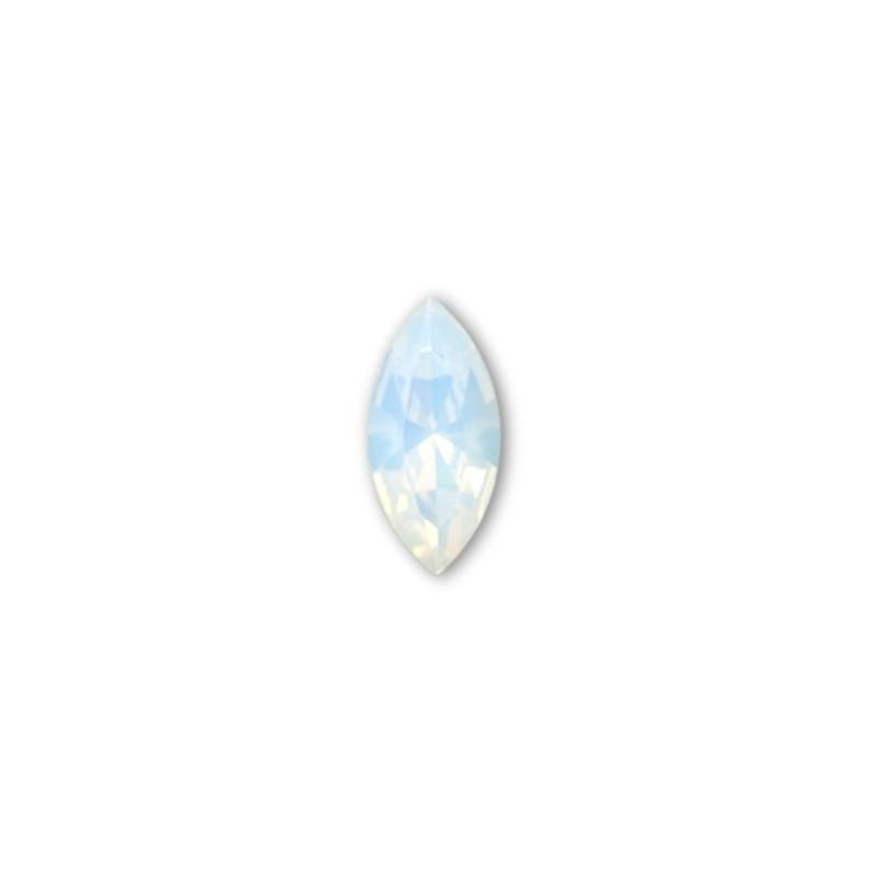 15x7mm White Opal F (234) XILION Navette Ehete Kristall 4228 Swarovski Elements
