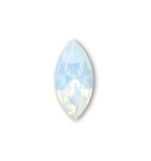 15x7mm White Opal F (234) XILION Navette Fancy Stone 4228 Swarovski Elements