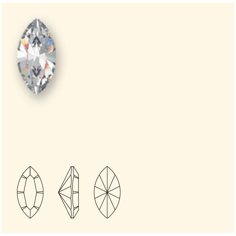 15x7mm Chrysolite Opal F (294) XILION Navette Fancy Stone 4228 Swarovski Elements
