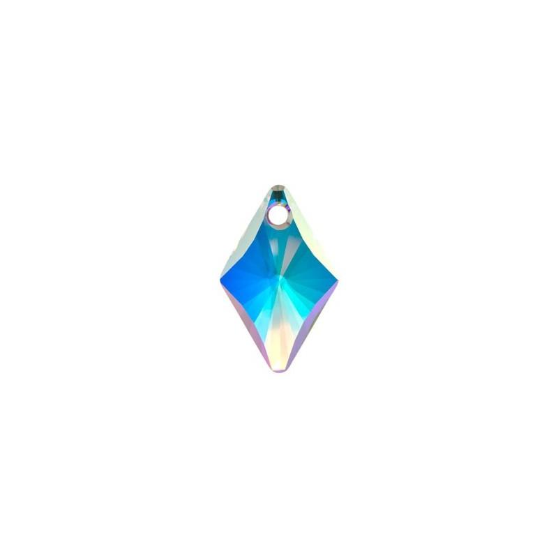 14MM Crystal AB (001 AB) Rhombus Pendants 6320 SWAROVSKI ELEMENTS