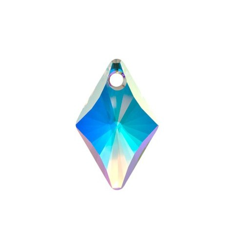 14MM Crystal AB (001 AB) Rhombus Pendants 6320 SWAROVSKI ELEMENTS
