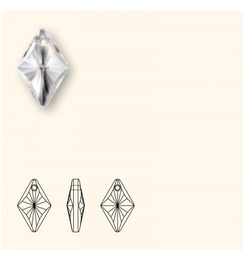 14MM Crystal AB (001 AB) Romb Ripatsid 6320 SWAROVSKI ELEMENTS