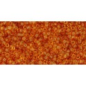 TR-15-2C TRANSPARENT TOPAZ TOHO SEED BEADS