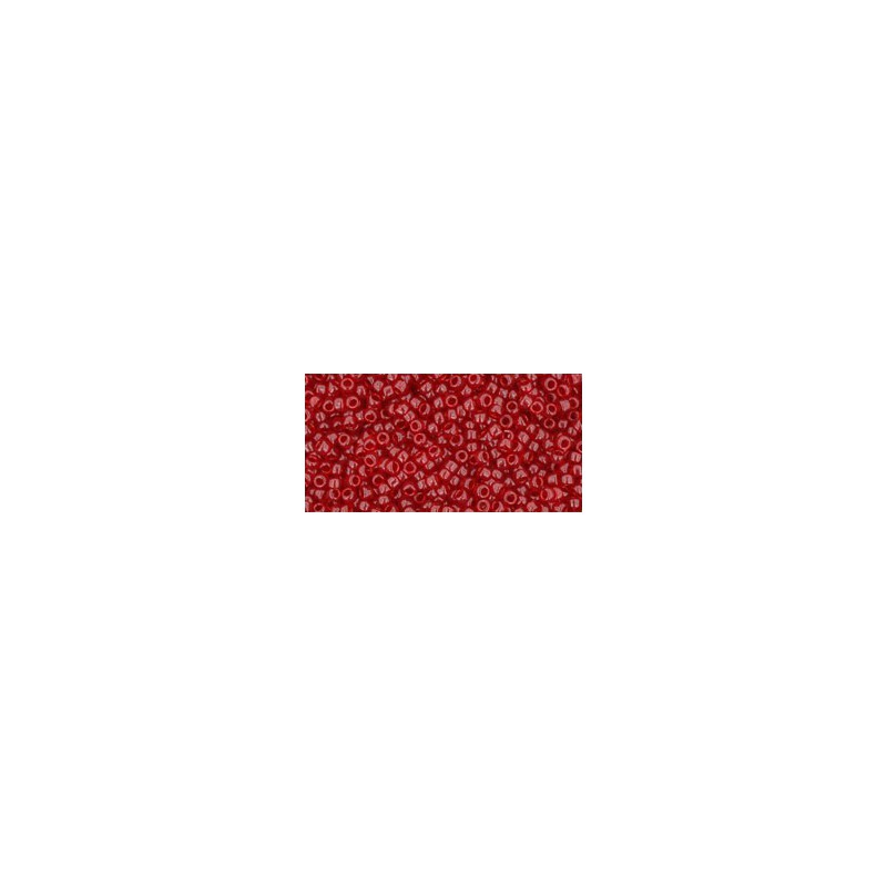 TR-15-5C TRANSPARENT RUBY TOHO SEED BEADS