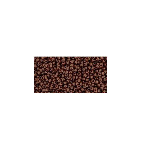 TR-15-46 OPAQUE OXBLOOD TOHO SEED BEADS