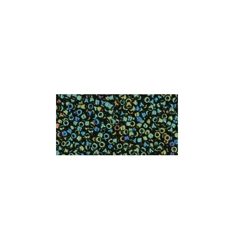 TR-15-84 METALLIC IRIS GREEN/BROWN TOHO SEED BEADS