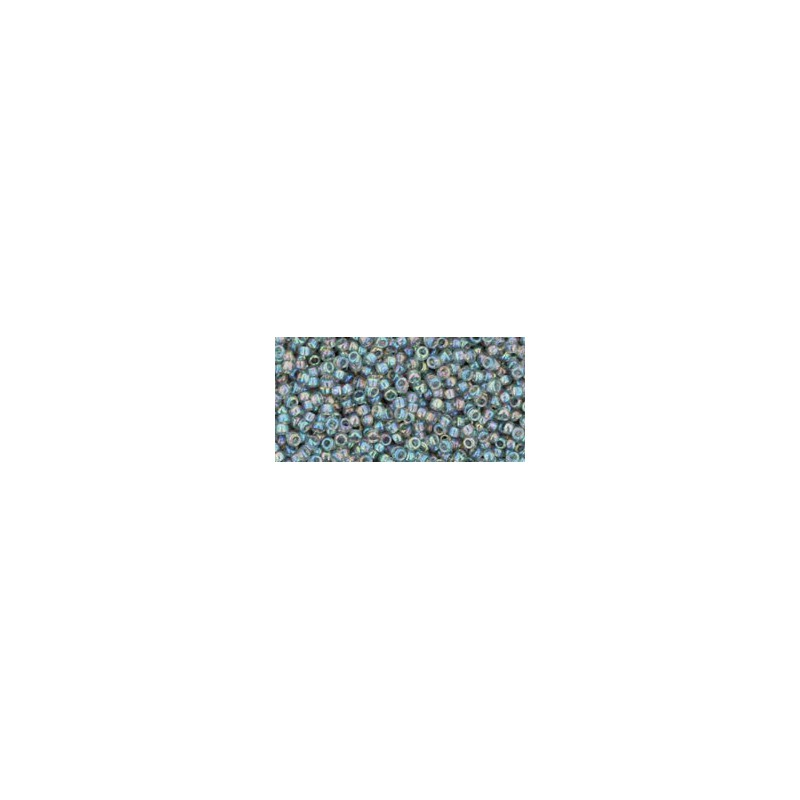 TR-15-176 TRANS-RAINBOW BLACK DIAMOND TOHO SEED BEADS