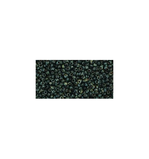 TR-15-Y302 HYBRID JET PICASSO TOHO SEED BEADS